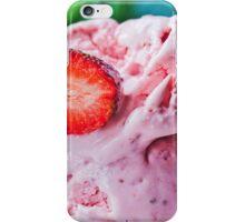 Strawberry ice-cream iPhone Case/Skin