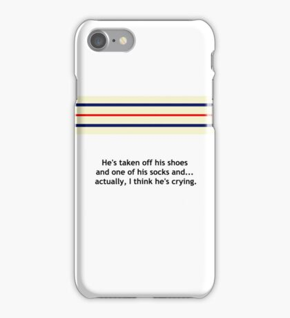 """The Royal Tenenbaums"" Richie Tenenbaum Tennis Match iPhone Case/Skin"