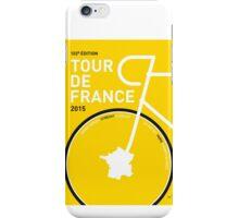 MY TOUR DE FRANCE MINIMAL POSTER 2015 iPhone Case/Skin