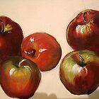 Five Apples by Cathy Amendola