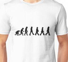 Human Evolution (The Beatles) Unisex T-Shirt