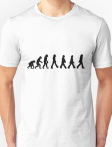 Human Evolution (The Beatles) T-Shirt