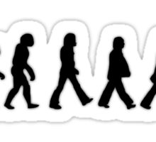 Human Evolution (The Beatles) Sticker