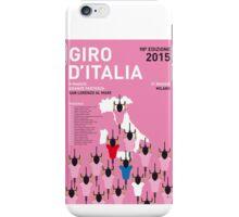 MY GIRO D'ITALIA MINIMAL POSTER 2015-2 iPhone Case/Skin