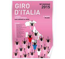 MY GIRO D'ITALIA MINIMAL POSTER 2015-2 Poster