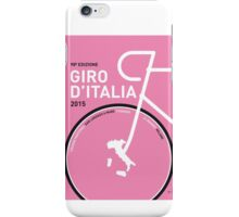 MY GIRO D'ITALIA MINIMAL POSTER 2015 iPhone Case/Skin