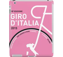 MY GIRO D'ITALIA MINIMAL POSTER 2015 iPad Case/Skin