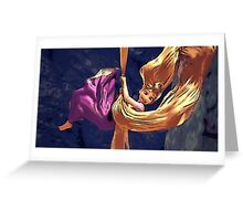 Rapunzel's Freedom Greeting Card
