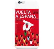 MY VUELTA A ESPANA MINIMAL POSTER 2015-2 iPhone Case/Skin