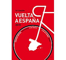 MY VUELTA A ESPANA MINIMAL POSTER 2015 Photographic Print