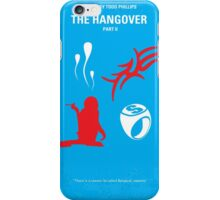 No145 My THE HANGOVER Part II minimal movie poster iPhone Case/Skin