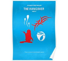 No145 My THE HANGOVER Part II minimal movie poster Poster