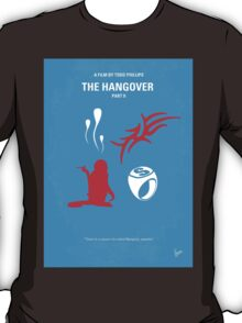 No145 My THE HANGOVER Part II minimal movie poster T-Shirt