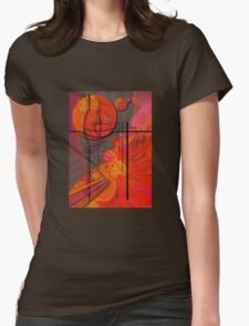 Tangerine Dream Womens Fitted T-Shirt