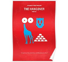 No145 My THE HANGOVER Part III minimal movie poster Poster