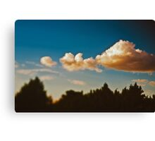 Summer sky above Moscow Canvas Print
