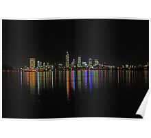 Perth - The City Of Lights  Poster