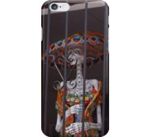 """Cinco de Mayo"" Skeleton In The Window iPhone Case/Skin"