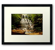 Junction Falls, New South Wales. Framed Print