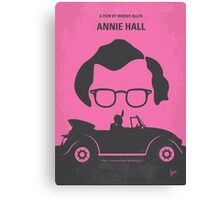 No147 My Annie Hall minimal movie poster Canvas Print