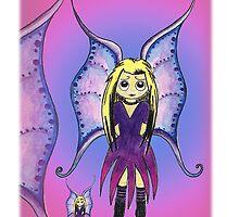 Cute Fairy by Kazzagloom