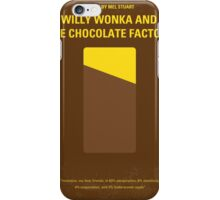 No149 My willy wonka and the chocolate factory minimal movie poster iPhone Case/Skin