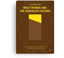 No149 My willy wonka and the chocolate factory minimal movie poster Canvas Print