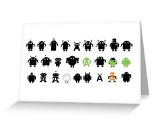 Android Explorer ! Greeting Card