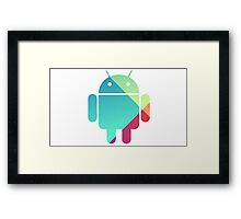 My Best Android Framed Print