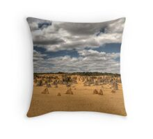 The Pinnacles, Cervantes, Western Australia #3 Throw Pillow