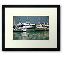 rich boys toys Framed Print