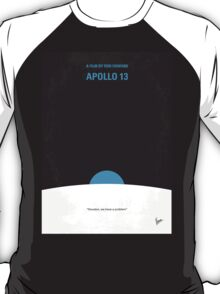 No151 My Apollo 13 minimal movie poster T-Shirt