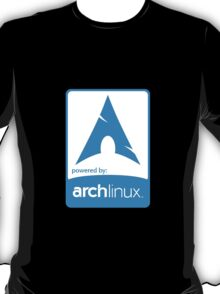 Powered by ArchLinux ! T-Shirt