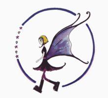 Lone Goth Fairy by Kazzagloom
