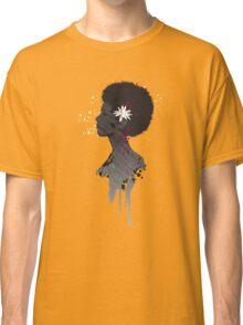 Flower Head Lady Classic T-Shirt