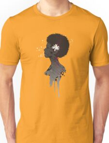 Flower Head Lady T-Shirt