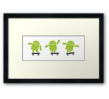 Android Explorer ! Framed Print