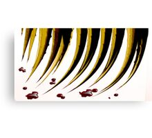 RED QUILL Canvas Print