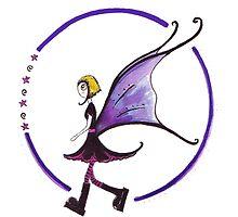 Goth Fairy by Kazzagloom
