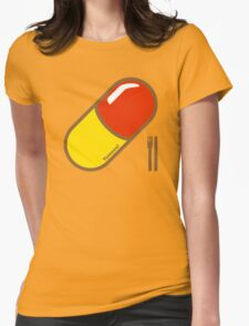 Rhubarb & Custard  Womens Fitted T-Shirt