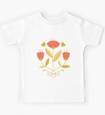 flowers everywhere/3 Kids Tee