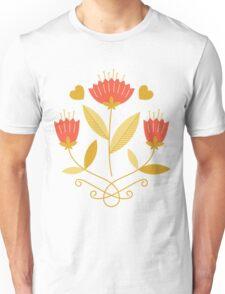 flowers everywhere/3 Unisex T-Shirt