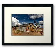 House For Sale View Lot Framed Print