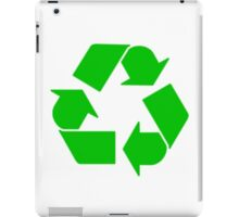 Leonard's Other Recycling Symbol iPad Case/Skin