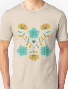 flowers everywhere/2 Unisex T-Shirt