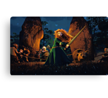 A Daughter's Love Canvas Print
