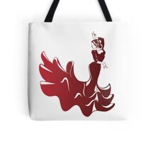 flamenco dancer in dramatic expressive pose Tote Bag