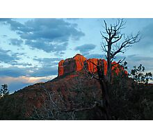 Mountain Light at Dusk Photographic Print