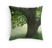 Peaceful Boughs Throw Pillow