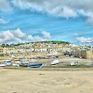 Portrait of Mousehole by Catherine Hamilton-Veal  